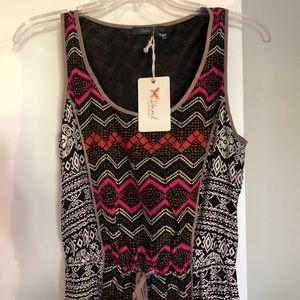 THLML Clothing Boho Chic Patterned Maxi Dress S